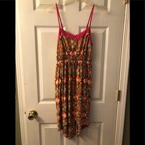 Women's spaghetti strap sun dress
